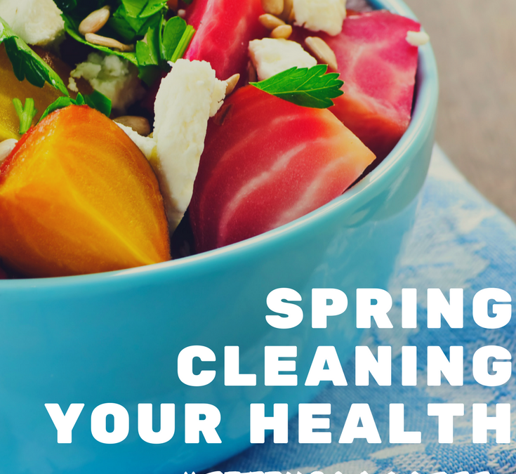 3 Ways to Spring Clean Your Health + Fitness