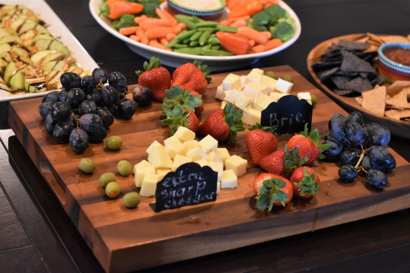 CHEESE BOARD for barbecue party