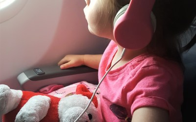 Flying with a toddler alone + what went wrong + tips to manage