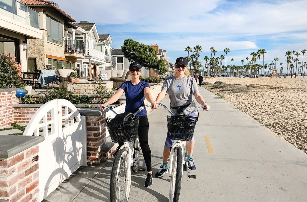 Best Place to Ride a Beach Cruiser in California – Balboa Island