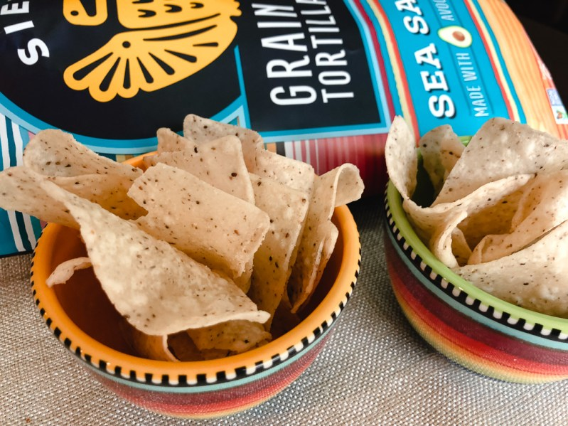 siete foods grain free sea salt tortilla chips