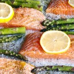 Easy Sheet Pan Salmon and Asparagus Weeknight Dinner (Whole30 + low carb)