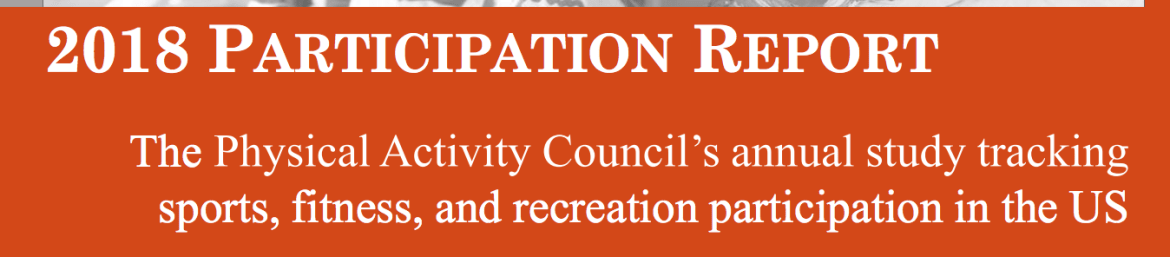 Physical Activity Council Participation Report