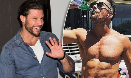 Sam Wood reveals how he beat his 'dad bod' after letting himself go after the birth of Charlie