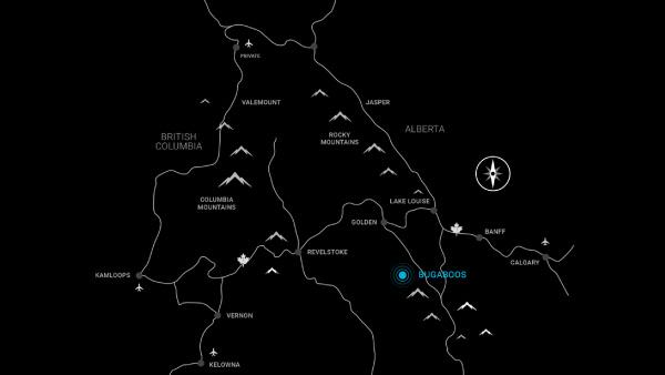 Bugaboo Map
