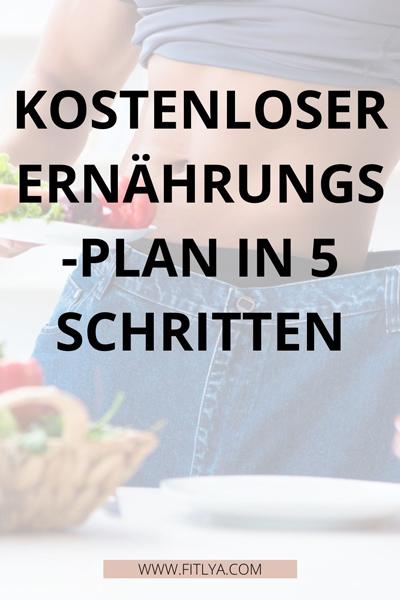 kostenloser-ernährungsplan-diät