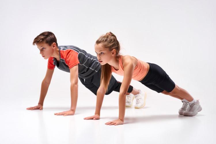 El entrenamiento físico en niños y adolescentes