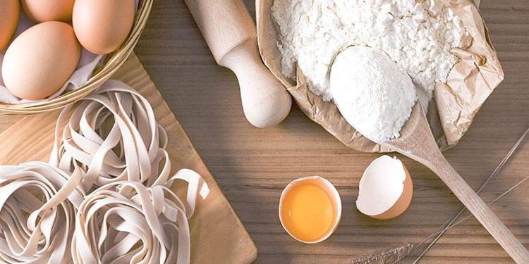 Come sostituire le uova in cucina