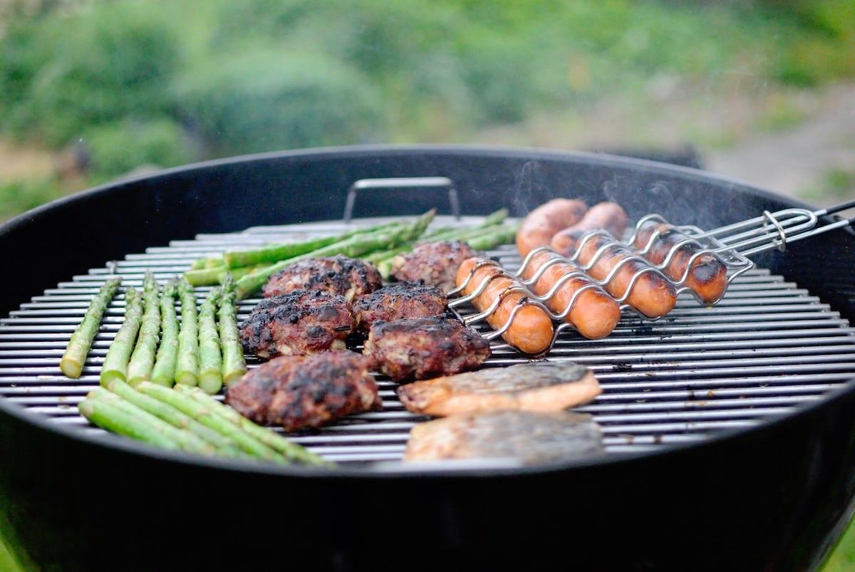 Barbecue legna