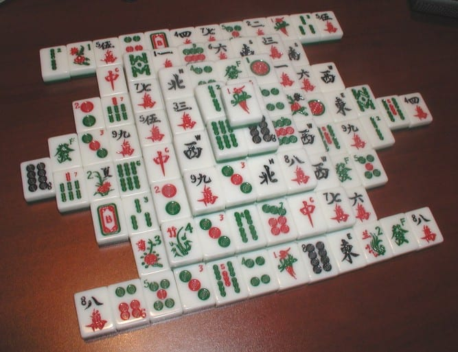 gioco cinese mahjong