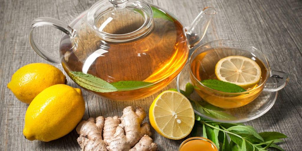 Raffreddore comune - Tisana zenzero e limone