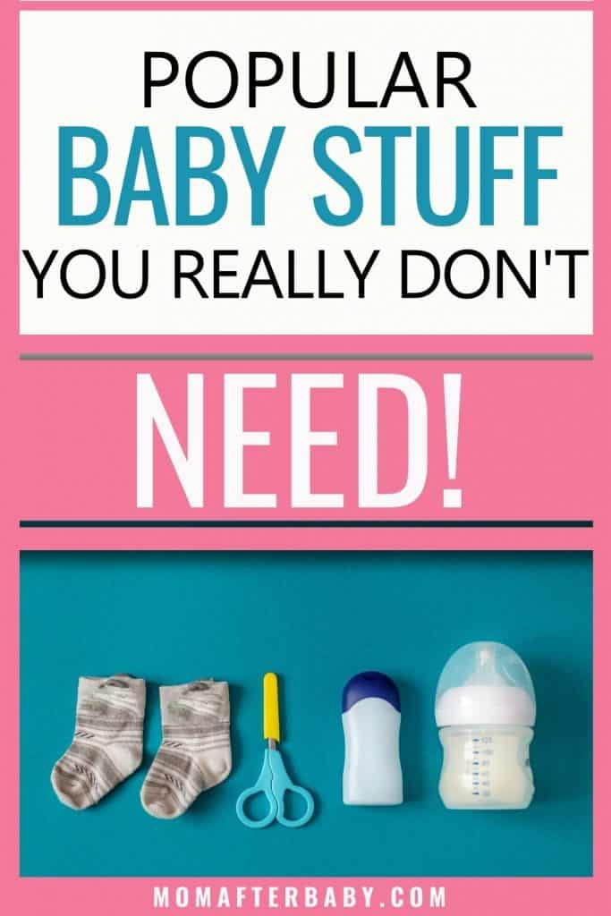 Baby items you don't need to waste your money on