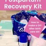 Postpartum Recovery Kit