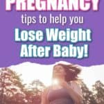 post pregnancy weight loss