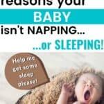 reasons your baby wont sleep