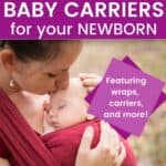baby carrier for newborn