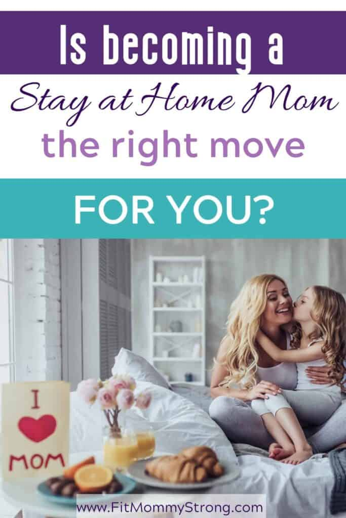 Duties of a stay at home mom