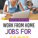 Legitimate work from home jobs for mom