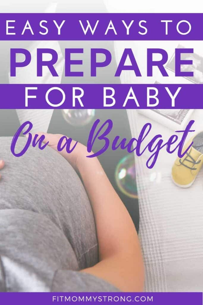 Prepare for baby on budget