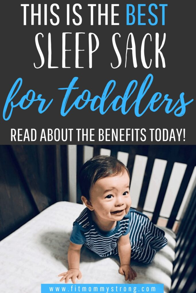 The best sleep sack for toddlers + it's benefits!