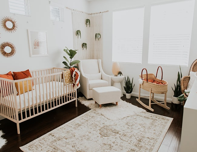 Modern Neutral Nursery Themes by Inspired by This
