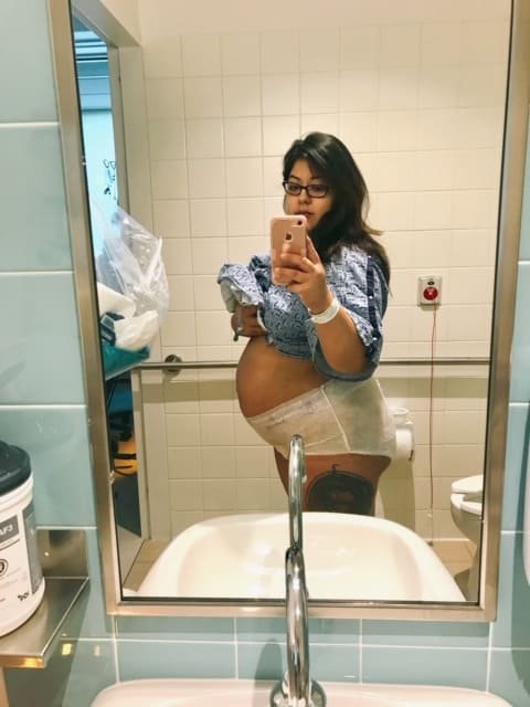 Thing to avoid after giving birth postpartum photo