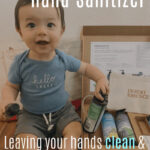 All Natural Hand Sanitizer for Mom & Baby