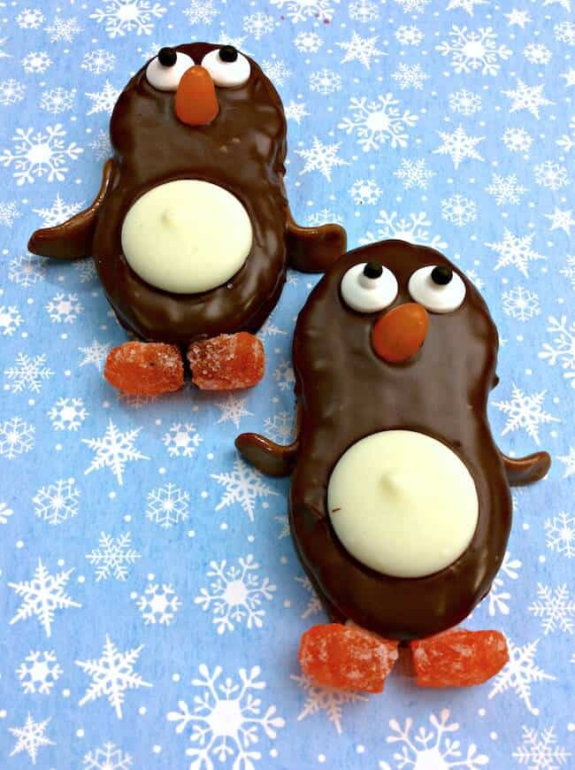 Nutter Butter Penguin Cookies