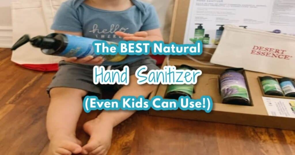 best natural hand sanitizer