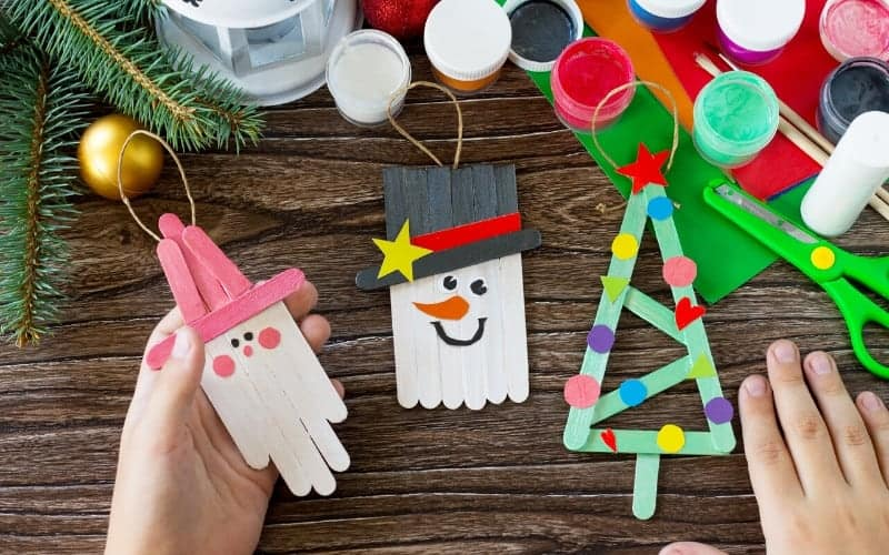 Toddler Christmas Craft Ideas