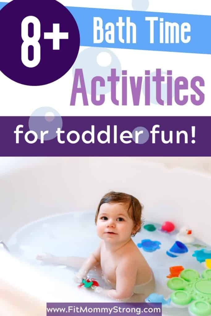 Bath Time Activities for Toddler Bath Fun!