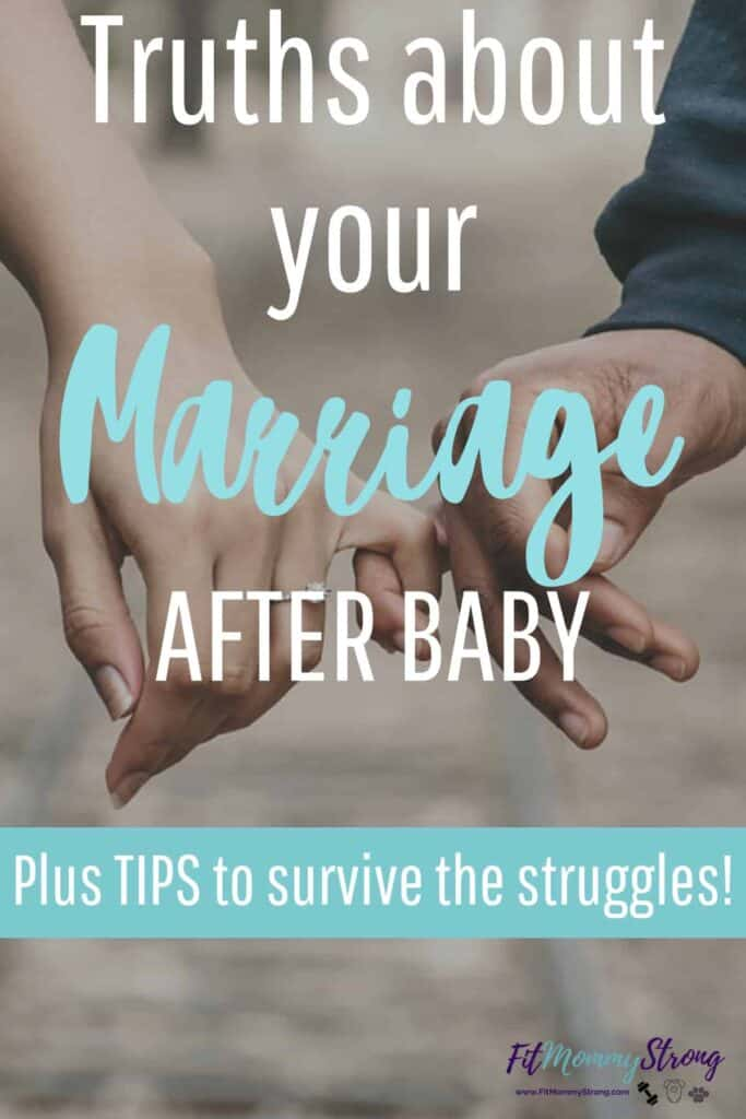 Tips to help your Marriage after baby