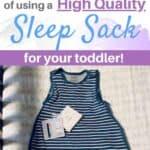 benefits of a high quality sleep sack