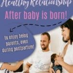 healthy relationship after baby