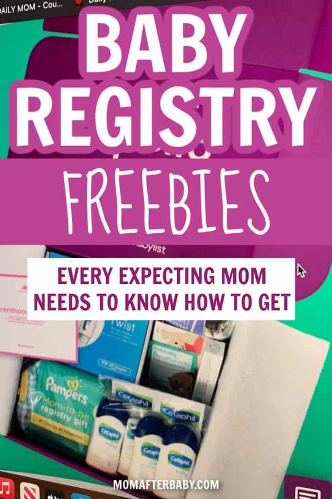 baby registry freebies