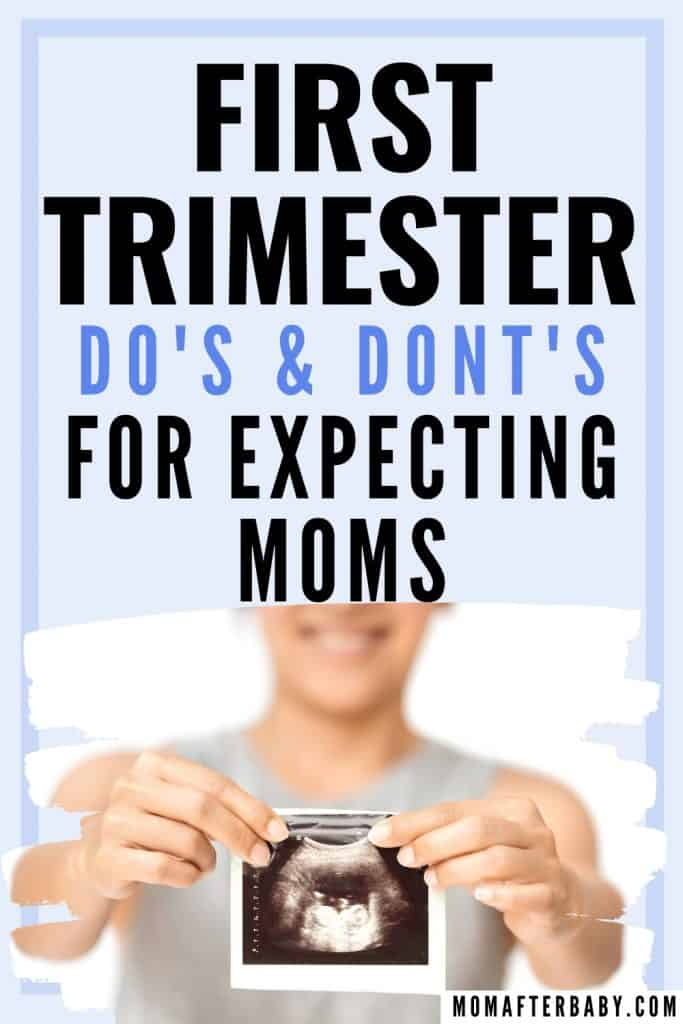 First Trimesters DOs and DONTs to Survive Pregnancy
