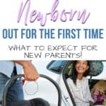 Taking newborn out in public