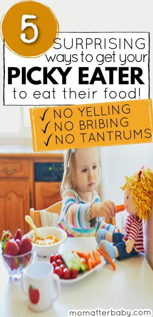 Picky Eating Toddler Tips - End Mealtime Meltdowns