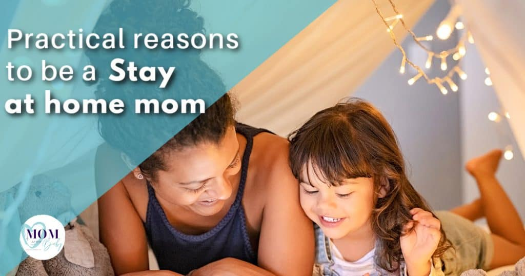 How to be a stay at home mom