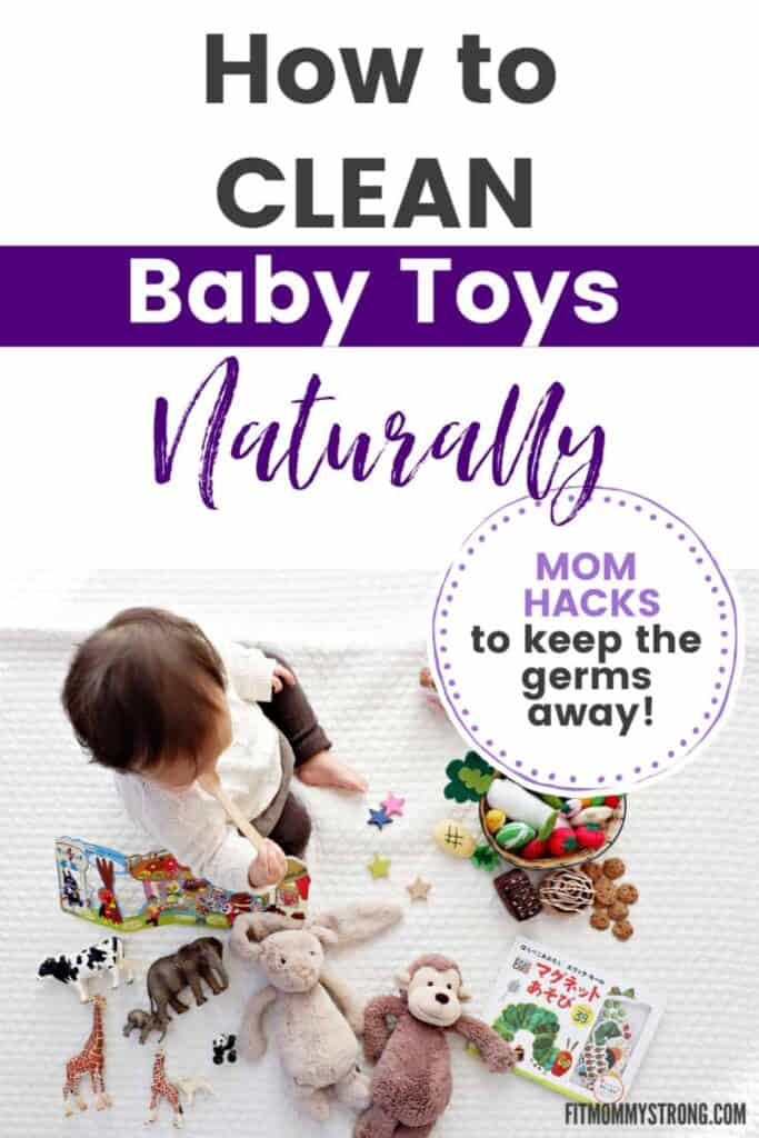 how to clean baby toys naturally