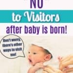 no visitor after birth
