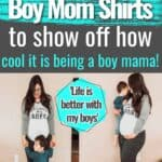 cute boy mom shirts