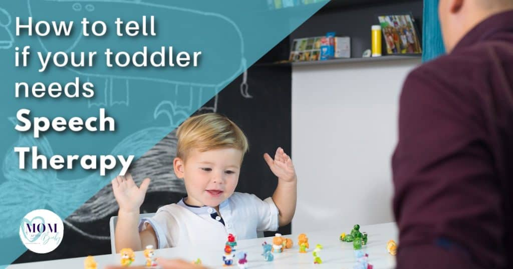 does my toddler need speech therapy
