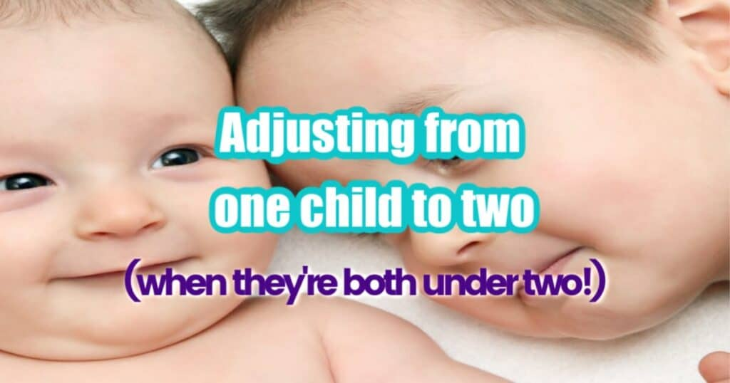 adjusting from one child to two