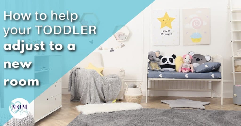 moving toddler to new room - mom after baby