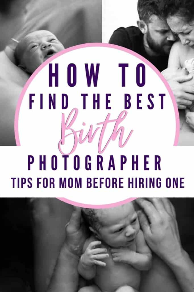 Tips for hiring the best BIRTH PHOTOGRAPHER