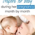 new mom baby guide month by month