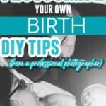 how to photograph your own birth