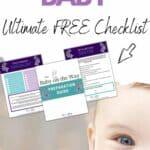 prepare for baby checklist