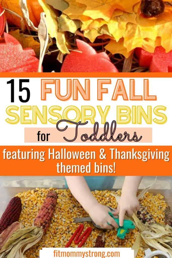 15 Fun Fall Sensory Bins for Toddlers